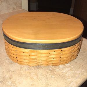 Longaberger Collectors Club Basket-2001